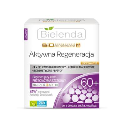 BIELENDA LIQUID CRYSTAL BIOTECHNOLOGY 7D – ACTIVE REGENERATION 60+ REGENERÁLÓ NAPPALI ARCKRÉM SPF10