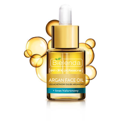 BIELENDA SKIN CLINIC PROFESSIONAL - ARGAN FACE OIL + HYALURONSAV