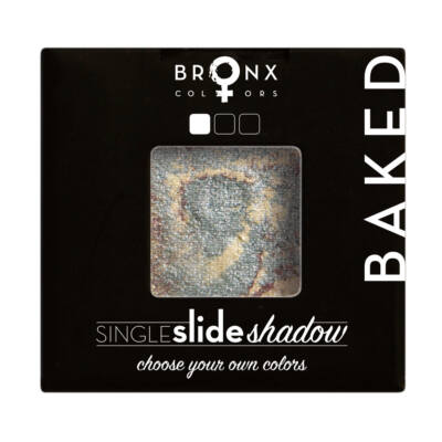 BRONX COLORS - SINGLE CLICK BAKED SHADOW - MOON