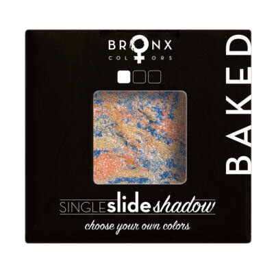 BRONX COLORS - SINGLE CLICK BAKED SHADOW - NEPTUNE