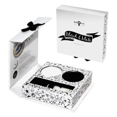 BRONX COLORS - POCKET SET - BLACK & WHITE (PSBW01)