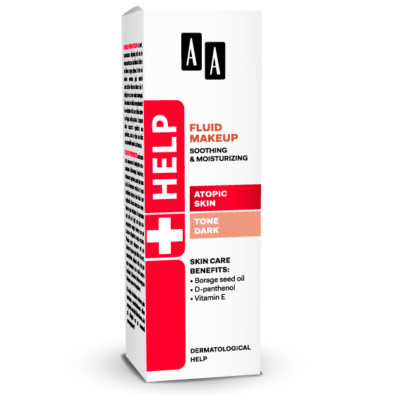 AA HELP FLUID MAKEUP - ATOPIC SKIN SÖTÉT 30 ML