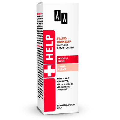 AA HELP FLUID MAKEUP - ATOPIC SKIN VILÁGOS 30 ML