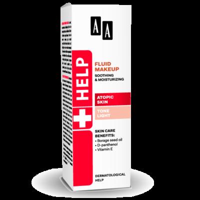 AA HELP FLUID MAKEUP - ATOPIC SKIN VILÁGOS 30 ML