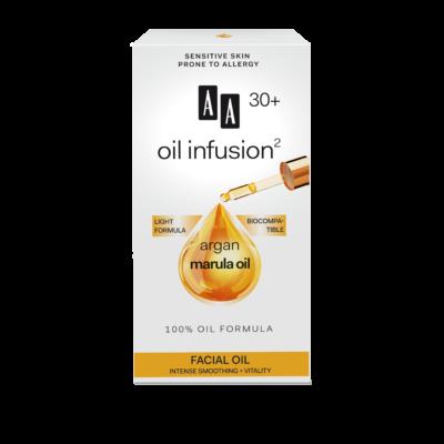 AA OIL INFUSION2 - 30+ INTENZÍV BŐRKISIMÍTÓ, VITALIZÁLÓ ARCÁPOLÓ OLAJ