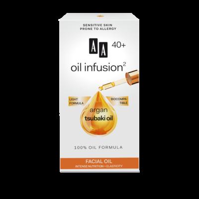 AA OIL INFUSION2 - 40+ INTENZÍV TÁPLÁLÓ, RUGALMASSÁGOT NÖVELŐ ARCÁPOLÓ OLAJ