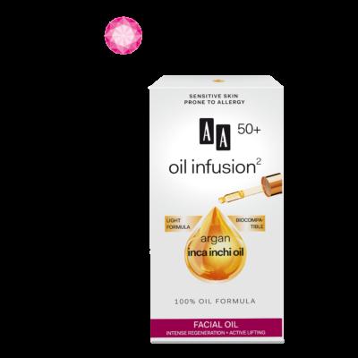 AA OIL INFUSION2 - 50+ INTENZÍV REGENERÁLÓ, AKTÍV LIFTING HATÁSÚ ARCÁPOLÓ OLAJ