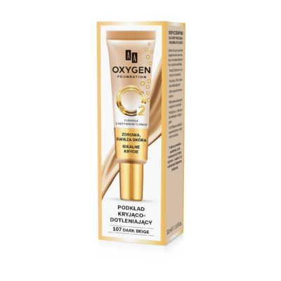 AA OXYGEN FOUNDATION: 107 DARK BEIGE 30 ML