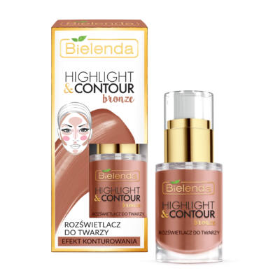 BIELENDA HIGHLIGHT & CONTOUR: BRONZE 15 ml