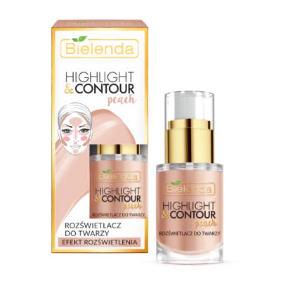 BIELENDA HIGHLIGHT & CONTOUR: PEACH 15 ml
