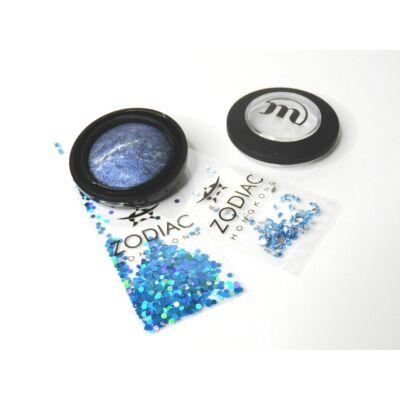 MAKE-UP STUDIO - EYESHADOW LUMIERE: ZIRCON BLUE 1,8 G - AJÁNDÉK ZODIAC STRASSZ