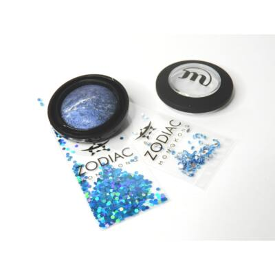 MAKE-UP STUDIO - EYESHADOW LUMIERE: ZIRCON BLUE 1,8 G - AJÁNDÉK ZODIAC STRASSZ