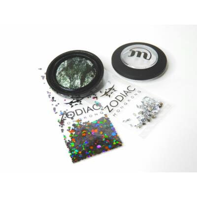 MAKE-UP STUDIO - EYESHADOW MOONDUST: GREEN GALAXY 1,8 G - AJÁNDÉK ZODIAC STRASSZ