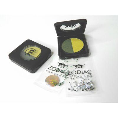 MAKE-UP STUDIO - EYESHADOW IN BOX DUO GREEN COMPANIONS 3 G -  AJÁNDÉK ZODIAC STRASSZ