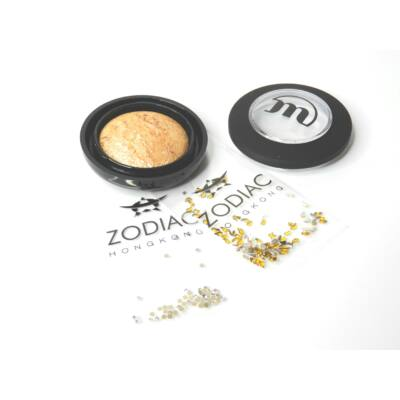 MAKE-UP STUDIO - EYESHADOW LUMIERE: CITRINE GOLD 1,8 G - AJÁNDÉK ZODIAC STRASSZ