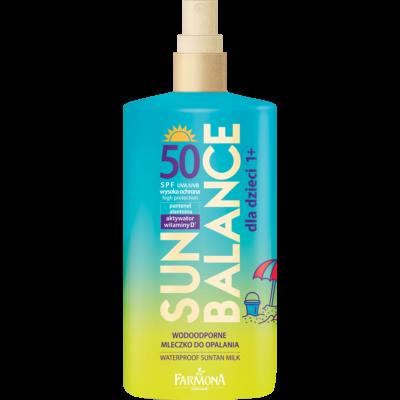 Farmona Sun Balance: Vízálló naptej gyermekek részére SPF 50 150 ml