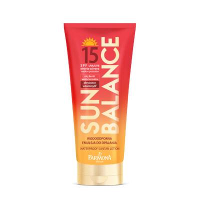Farmona Sun Balance: Vízálló napvédő lotion SPF 15 150 ml