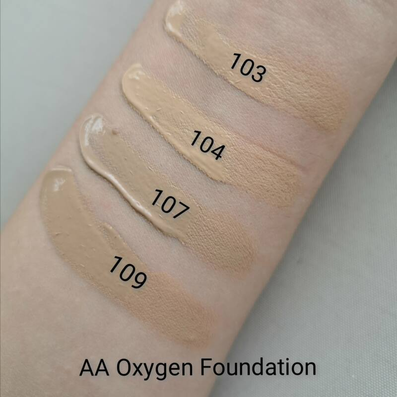 AA OXYGEN FOUNDATION: 103 LIGHT BEIGE 30 ML