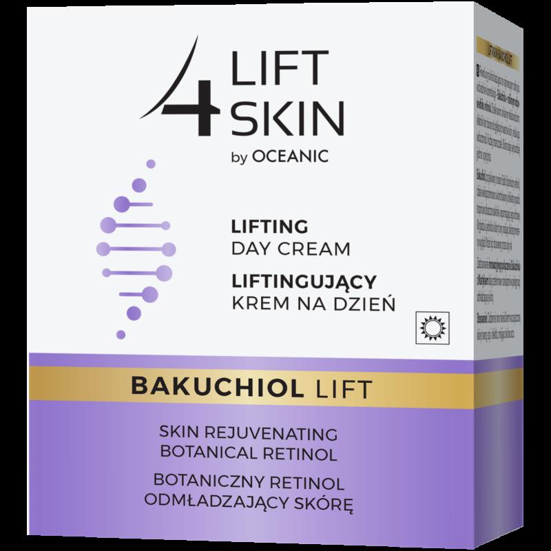 LIFT 4 SKIN BAKUCHIOL LIFT - Lifting hatású nappali arckrém növényi retinollal 50 ml