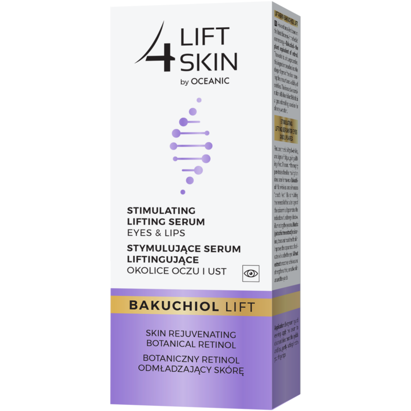 LIFT 4 SKIN BAKUCHIOL LIFT - Lifting hatású szem- és szájkörnyéki szérum növényi retinollal 15 ml