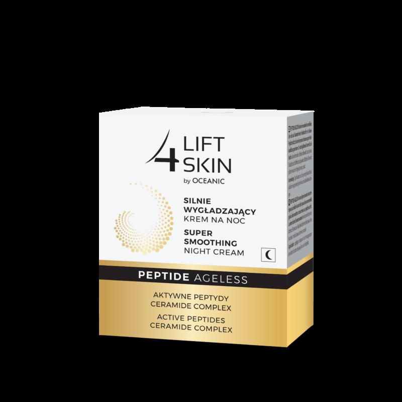 LIFT 4 SKIN PEPTIDE AGELESS - Bőrkisimító hatású éjszakai arckrém peptidekkel és ceramidokkal 50 ml