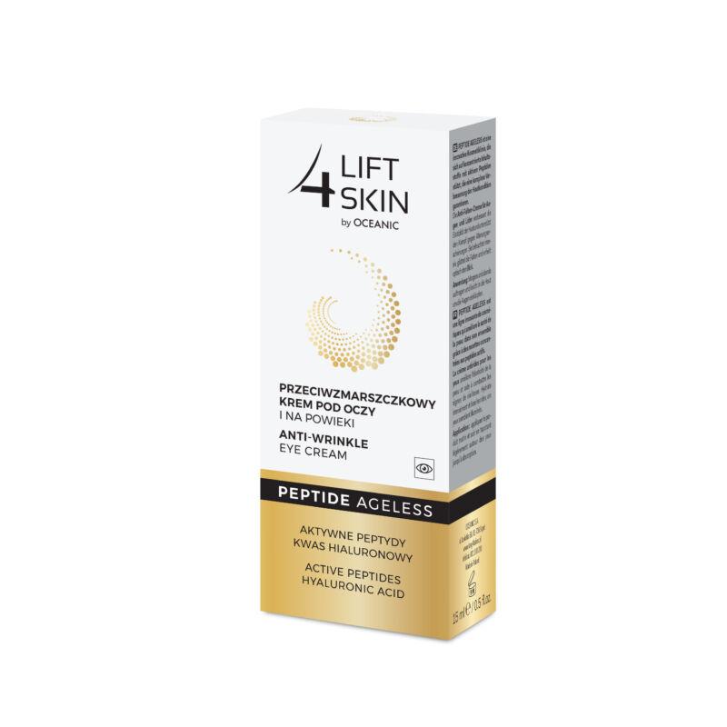 LIFT 4 SKIN PEPTIDE AGELESS - Ránctalanító hatású szemkörnyéki krém peptidekkel és hyaluronsavval 15 ml