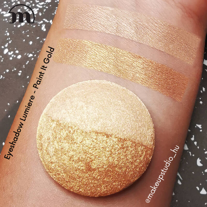 MAKE-UP STUDIO - EYESHADOW LUMIERE REFILL: PAINT IT GOLD DUO 1,8 G